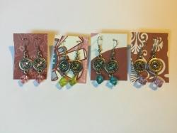 Bright Dangle Earrings