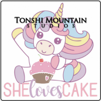 She Loves Cake by Tonshi